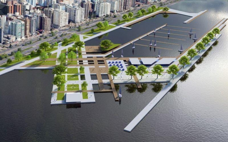Emitida licença prévia para o terminal marítimo de passageiros da Grande Florianópolis