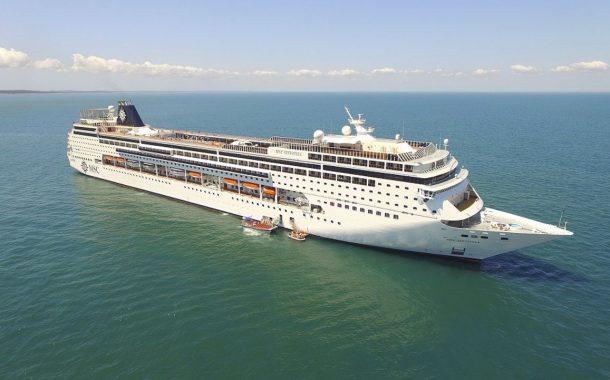 MSC Sinfonia chega ao Brasil para realizar embarques inéditos do porto de Itajaí (SC) na temporada de cruzeiros 2019/2020