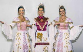Trajes das Soberanas da 17ª Fenavinho resgatam a história e renovam a tradição da festa em Bento Gonçalves